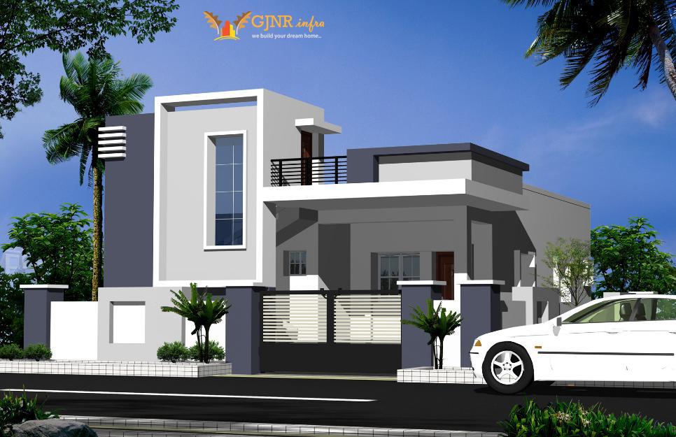 Pushpagna infra - Home front window elevation indian design ...